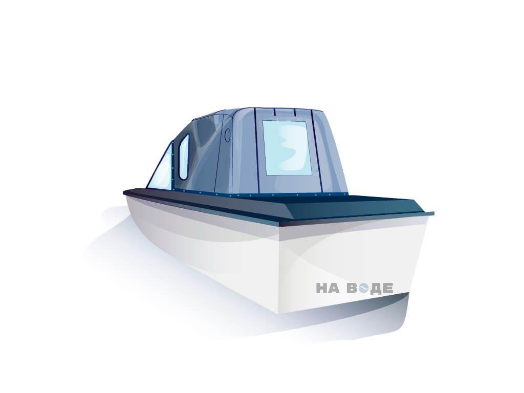 Ходовой тент на лодку Амур-3 комплектация Стандарт - фото 3