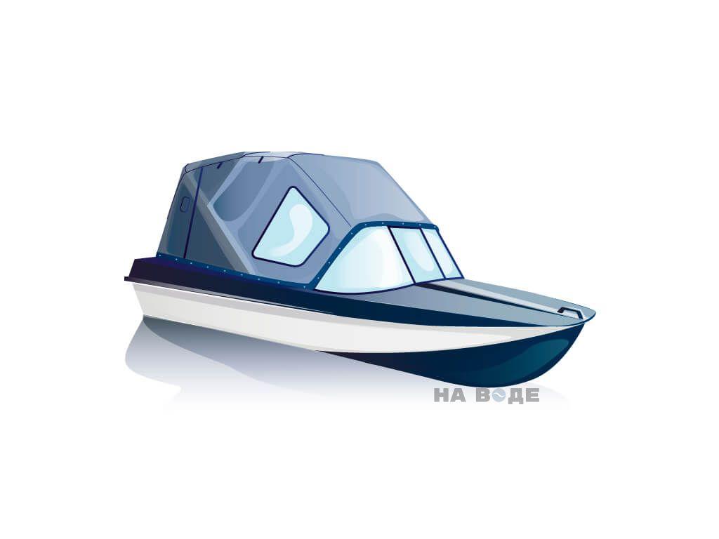 Ходовой тент на лодку Амур-3 комплектация Стандарт - фото 2