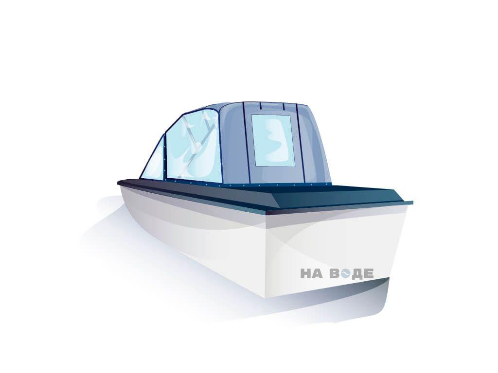 Ходовой тент на лодку Амур-3 комплектация Универсал - фото 3