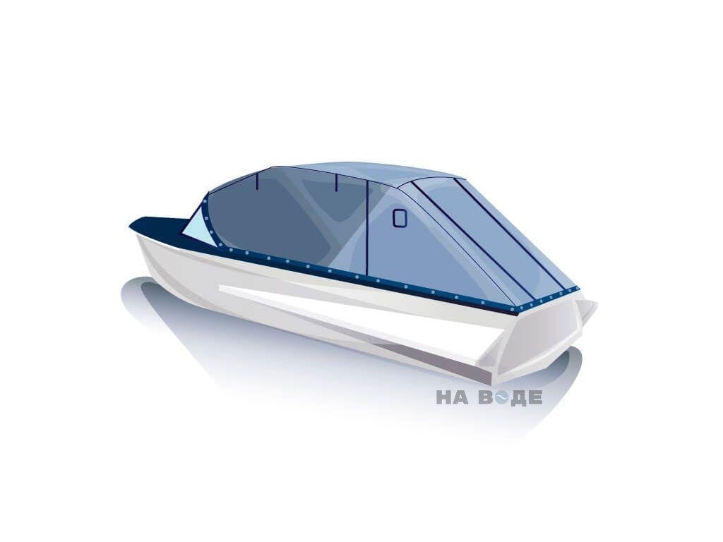 Ходовой тент на лодку Казанка-М комплектация Эконом - фото 3