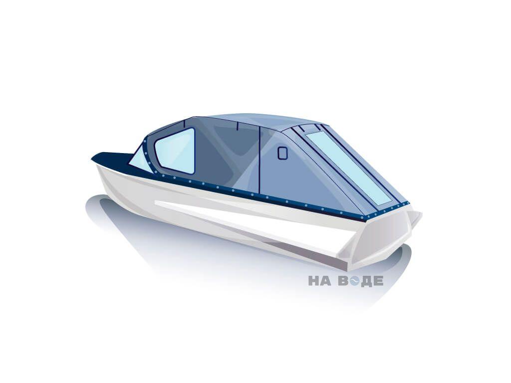 Ходовой тент на лодку Казанка-М комплектация Стандарт - фото 3