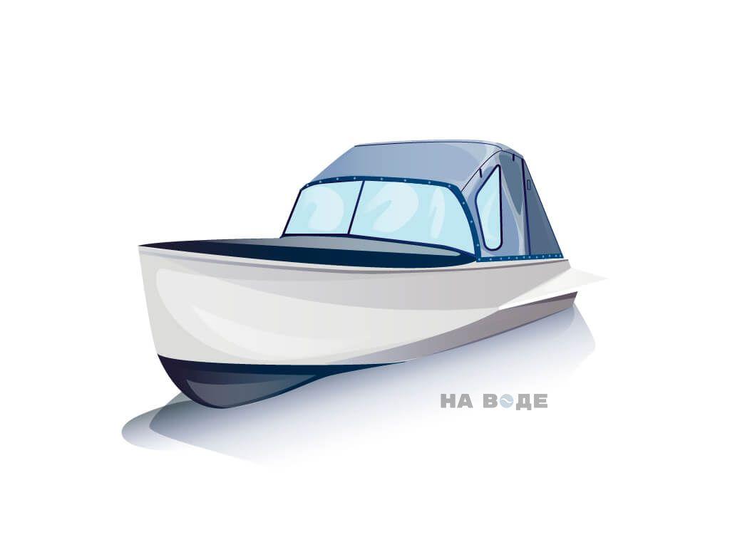 Ходовой тент на лодку Казанка-М комплектация Стандарт - фото 2