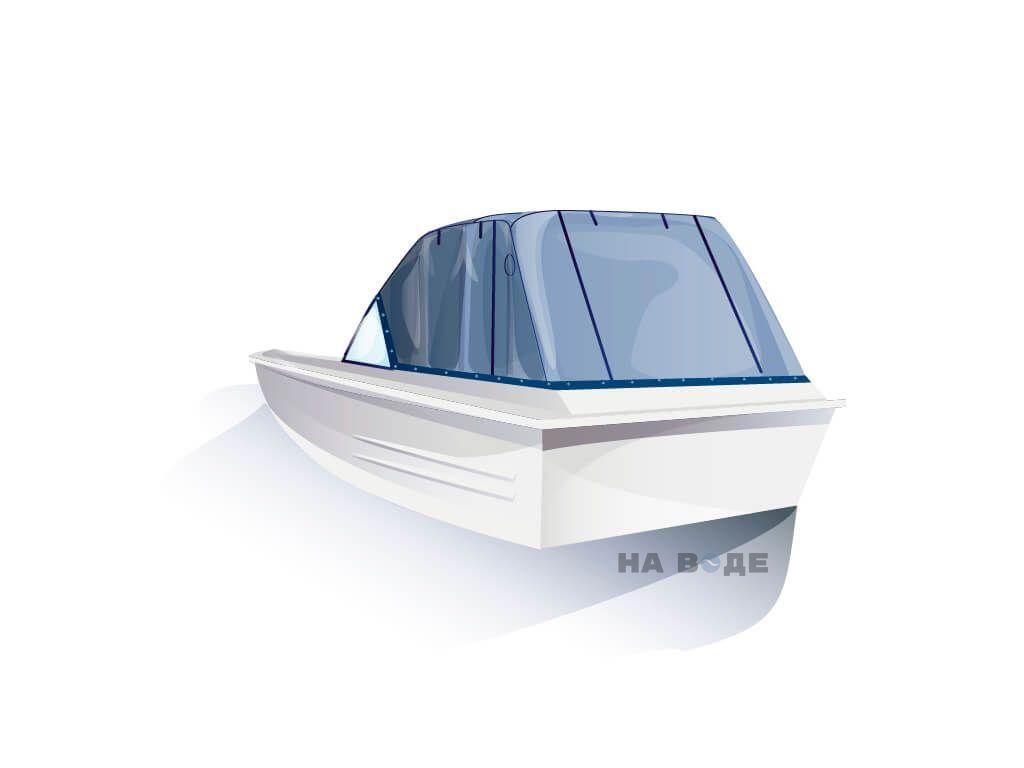 Ходовой тент на лодку Казанка-5 комплектация Эконом - фото 3