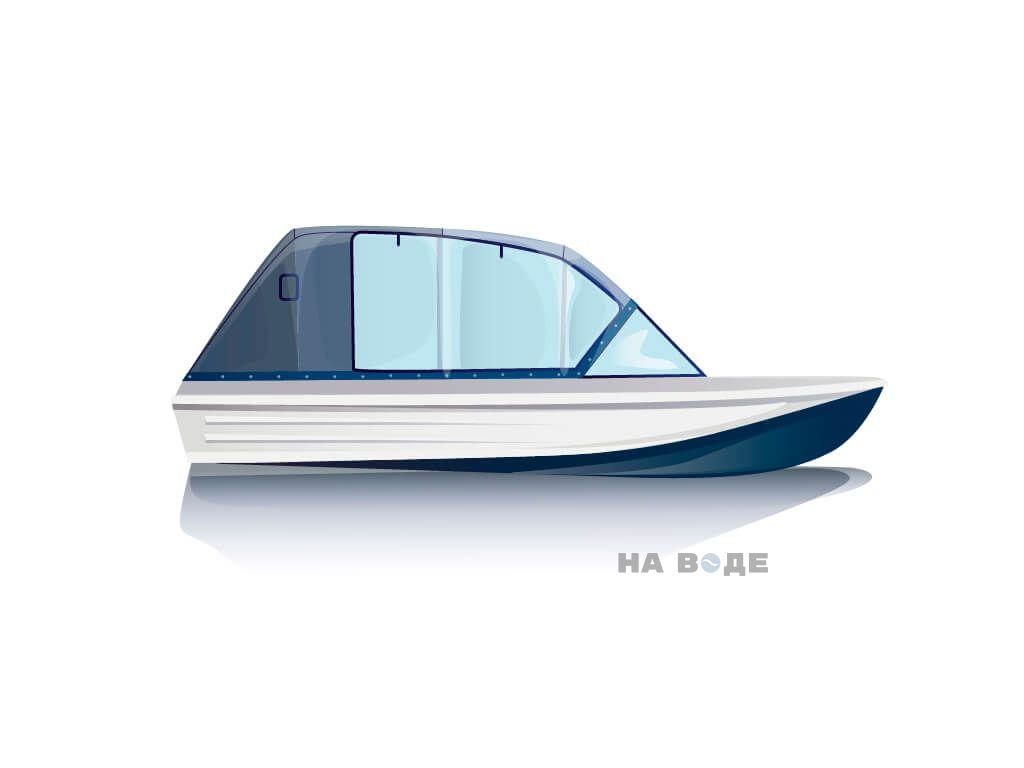 Ходовой тент на лодку Казанка-5 комплектация Капитан - фото 1