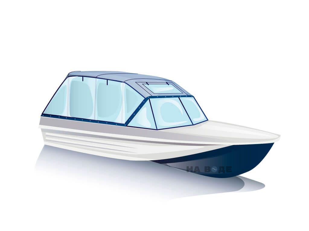 Ходовой тент на лодку Казанка-5 комплектация Универсал - фото 2