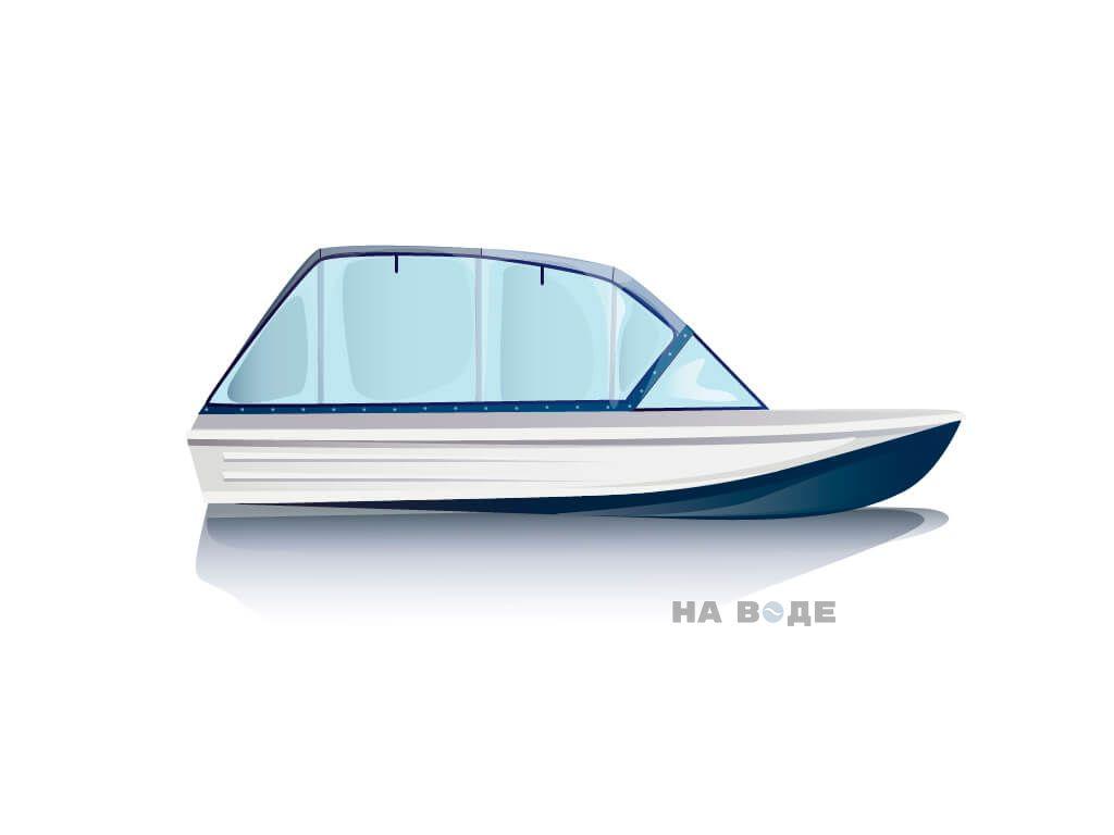 Ходовой тент на лодку Казанка-5 комплектация Универсал - фото 1
