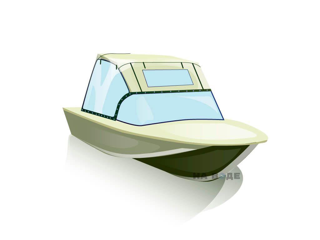 Ходовой тент на лодку Южанка-2 комплектация Универсал - фото 1