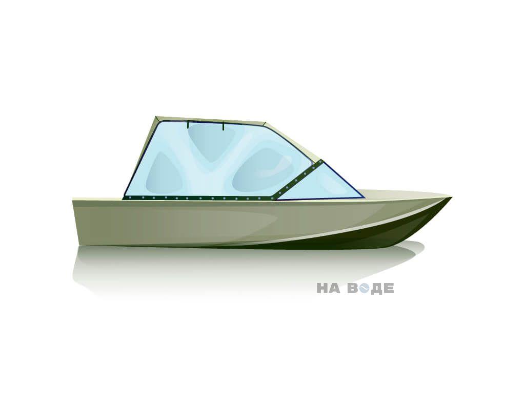 Ходовой тент на лодку Южанка-2 комплектация Универсал - фото 2