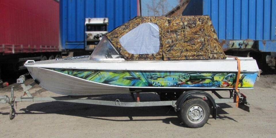 Ходовой тент для лодок