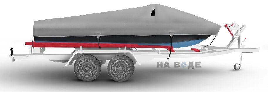 Транспортировочный тент на лодку Прогресс-2 комплектация Классик - фото 3