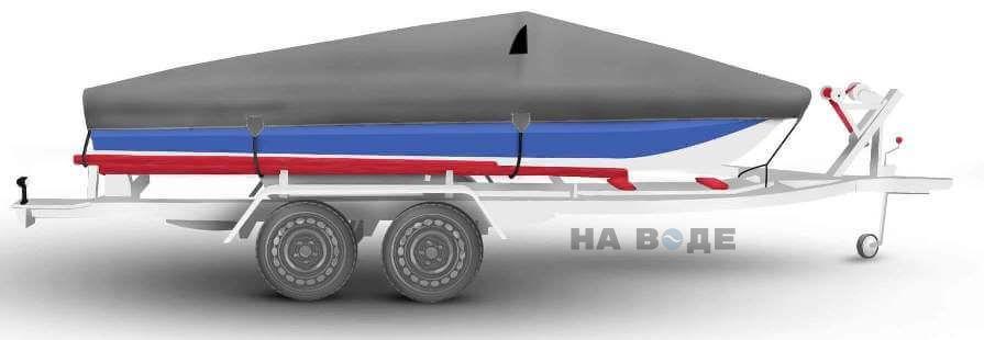 Транспортировочный тент на лодку Обь-М комплектация Классик - фото 3