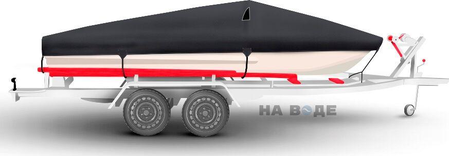 Транспортировочный тент на лодку Обь-3 комплектация Классик - фото 3