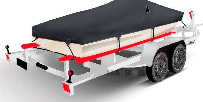 Транспортировочный тент на лодку Обь-3 комплектация Классик - фото 2