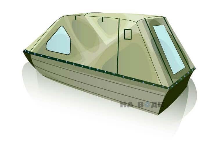 Ходовой тент на лодку Тактика 370 комплектация Классика - фото 3
