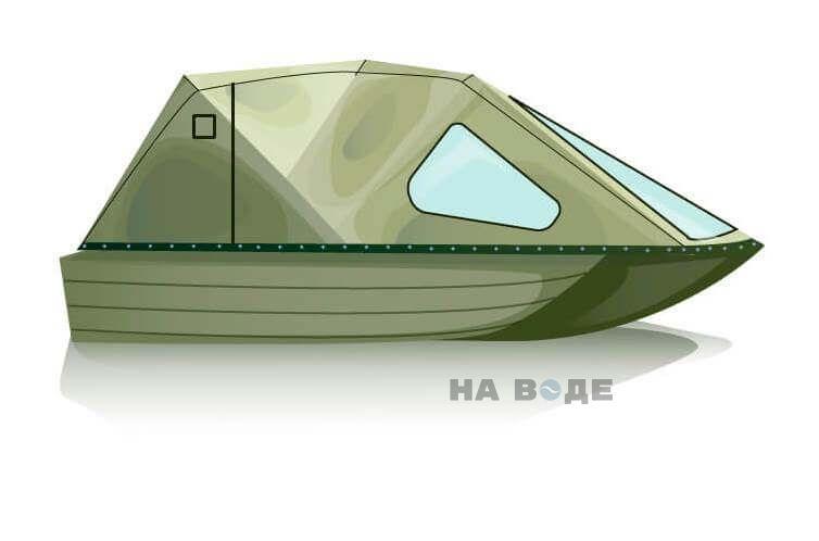 Ходовой тент на лодку Тактика 370 комплектация Классика - фото 2