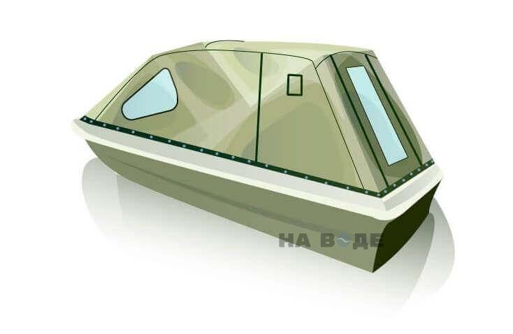 Ходовой тент на лодку Пингвин комплектация Классика - фото 3