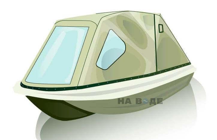 Ходовой тент на лодку Пингвин комплектация Классика - фото 1