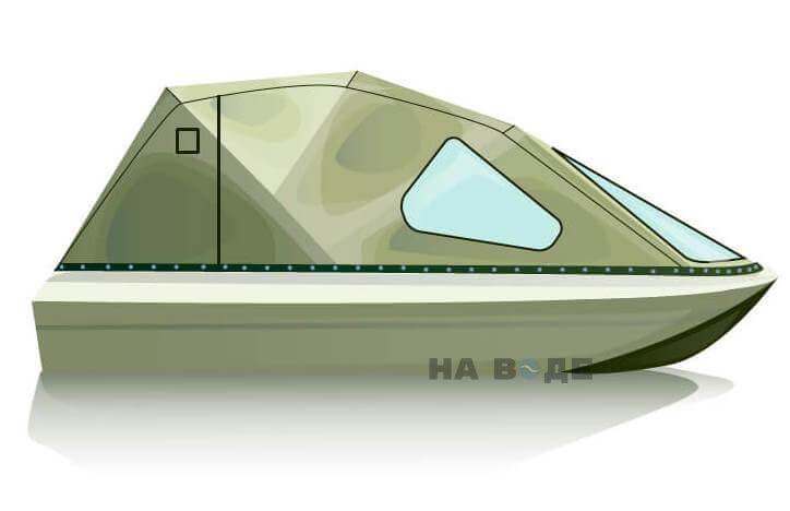 Ходовой тент на лодку Пингвин комплектация Классика - фото 2
