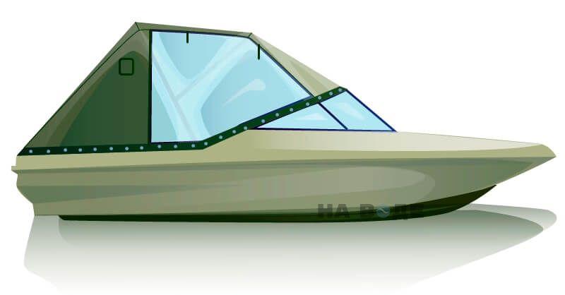 Ходовой тент на катер Bayliner 175 комплектация Капитан - фото 1