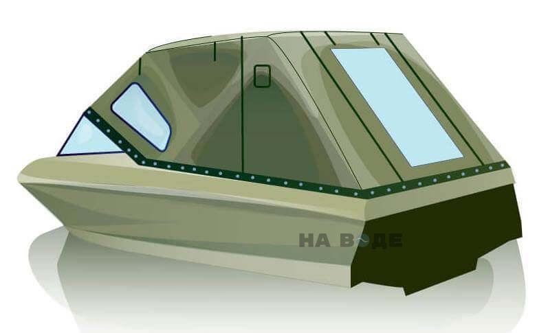 Ходовой тент на катер Bayliner 175 комплектация Стандарт - фото 3