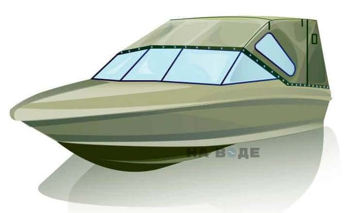 Ходовой тент на катер Bayliner 175 комплектация Стандарт - фото 2