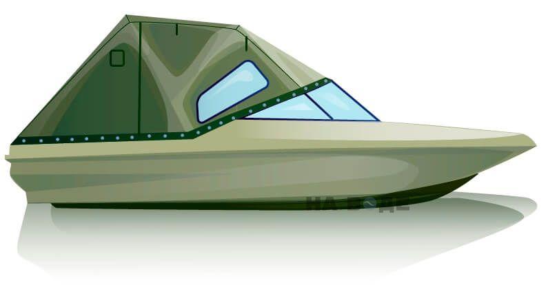 Ходовой тент на катер Bayliner 175 комплектация Стандарт - фото 1