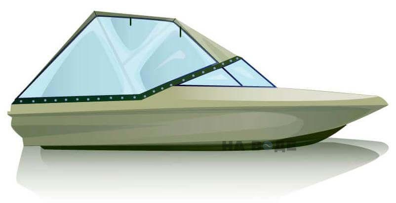 Ходовой тент на катер Bayliner 175 комплектация Универсал - фото 1