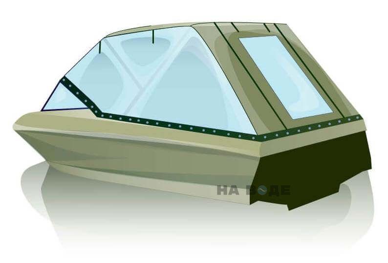 Ходовой тент на катер Bayliner 175 комплектация Универсал - фото 3