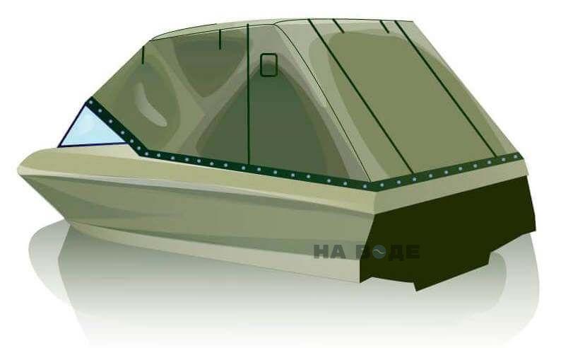 Ходовой тент на катер Bayliner 175 комплектация Эконом - фото 3