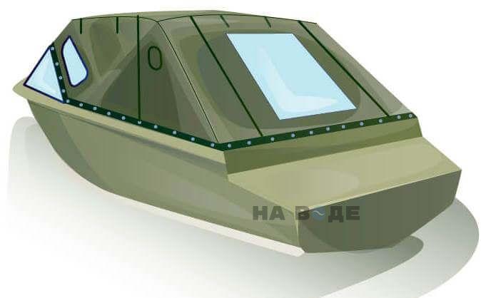Ходовой тент на лодку Quintrex 455 Coast Runner комплектация Стандарт - фото 3