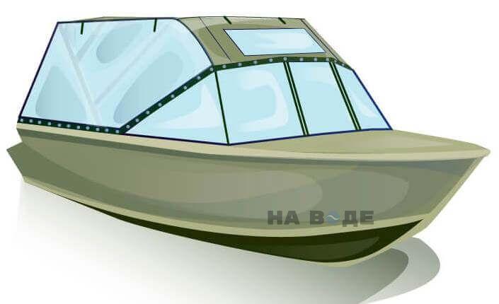 Ходовой тент на лодку Quintrex 455 Coast Runner комплектация Универсал - фото 2