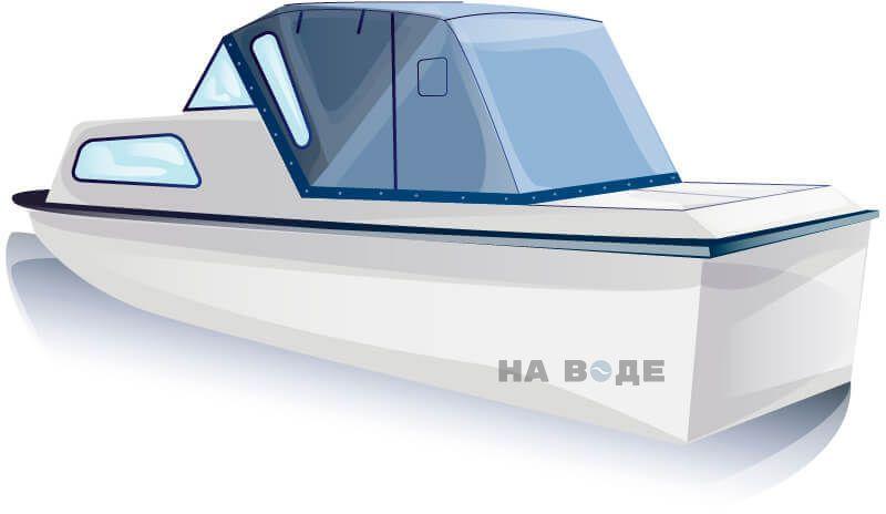 Ходовой тент на лодку Амур-2 комплектация Стандарт - фото 2