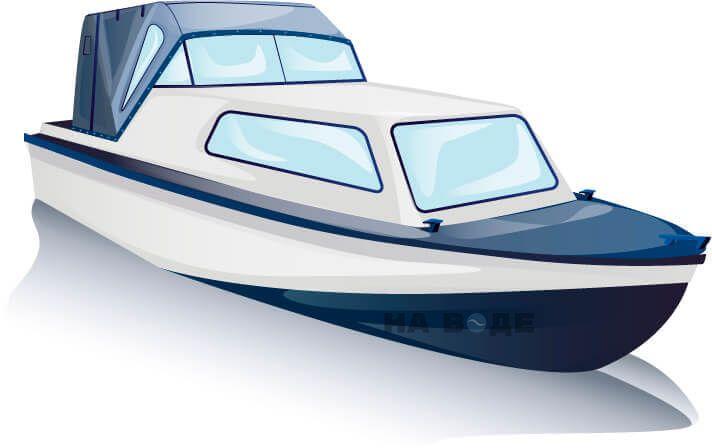 Ходовой тент на лодку Амур-2 комплектация Стандарт - фото 3