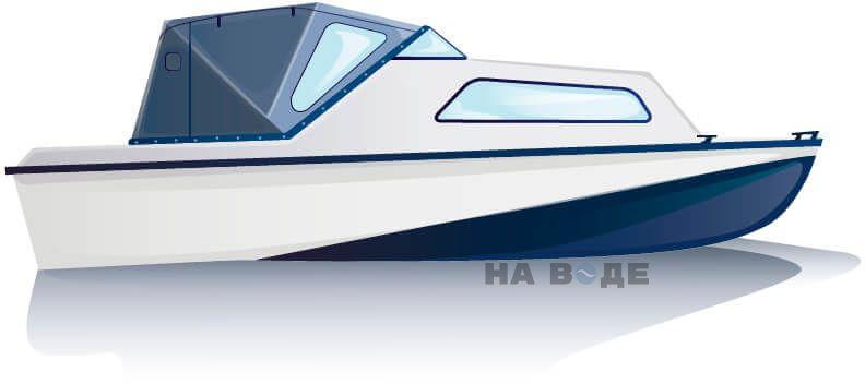 Ходовой тент на лодку Амур-2 комплектация Стандарт - фото 1