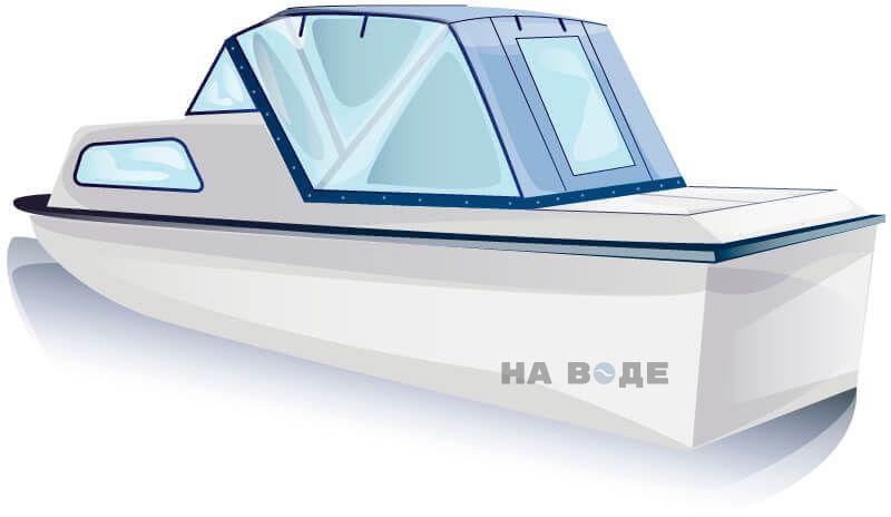 Ходовой тент на лодку Амур-2 комплектация Универсал - фото 2