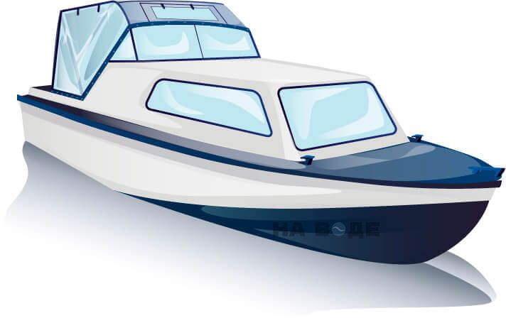 Ходовой тент на лодку Амур-2 комплектация Универсал - фото 3