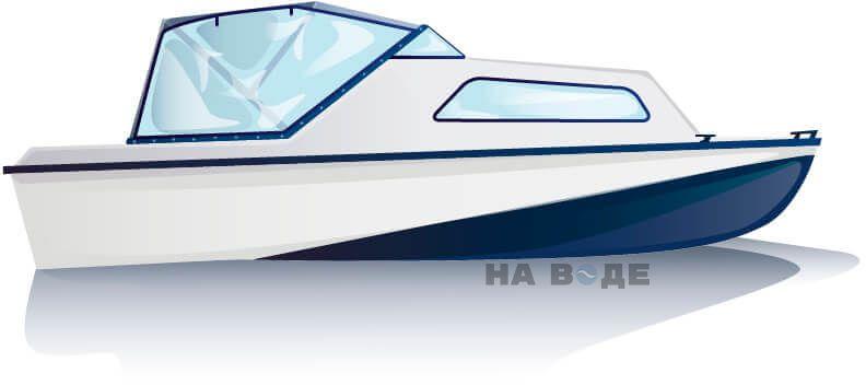 Ходовой тент на лодку Амур-2 комплектация Универсал - фото 1