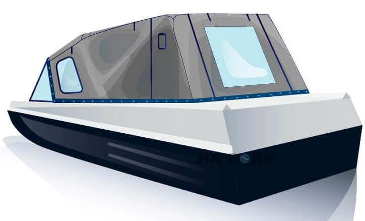 Ходовой тент на лодку Казанка-5М2 комплектация Стандарт - фото 3