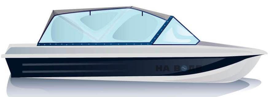 Ходовой тент на лодку Казанка-5М2 комплектация Универсал - фото 1