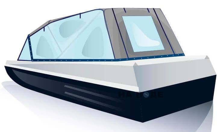 Ходовой тент на лодку Казанка-5М2 комплектация Универсал - фото 3