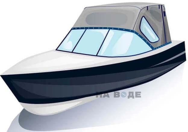 Ходовой тент на лодку МКМ (Ярославка) комплектация Стандарт - фото 2