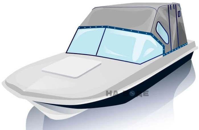 Ходовой тент на лодку Обь-3 комплектация Комфорт - фото 2