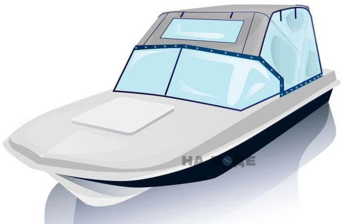 Ходовой тент на лодку Обь-3 комплектация Универсал - фото 2