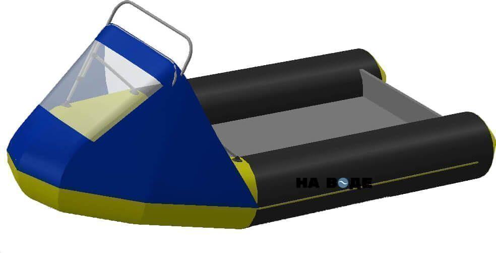 Носовой тент с таргой на лодку Лоцман М290 (Киль) - фото 1