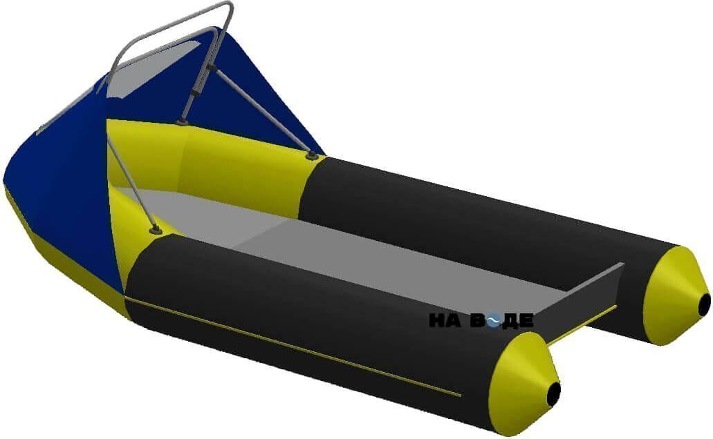 Носовой тент с таргой на лодку Yamaran (Ямаран) RIBs B410R - фото 2