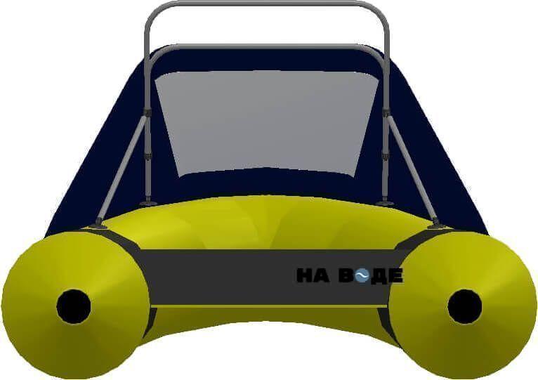 Носовой тент с таргой на лодку Yamaran (Ямаран) RIBs B410R - фото 4