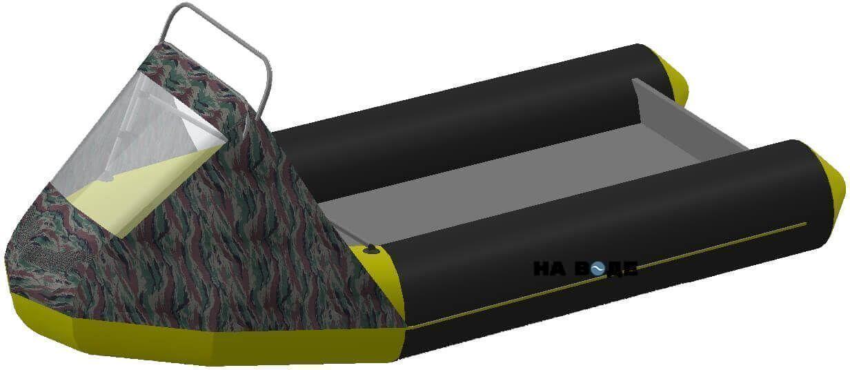 Носовой тент с таргой на лодку Лоцман М290 (Киль) - фото 6