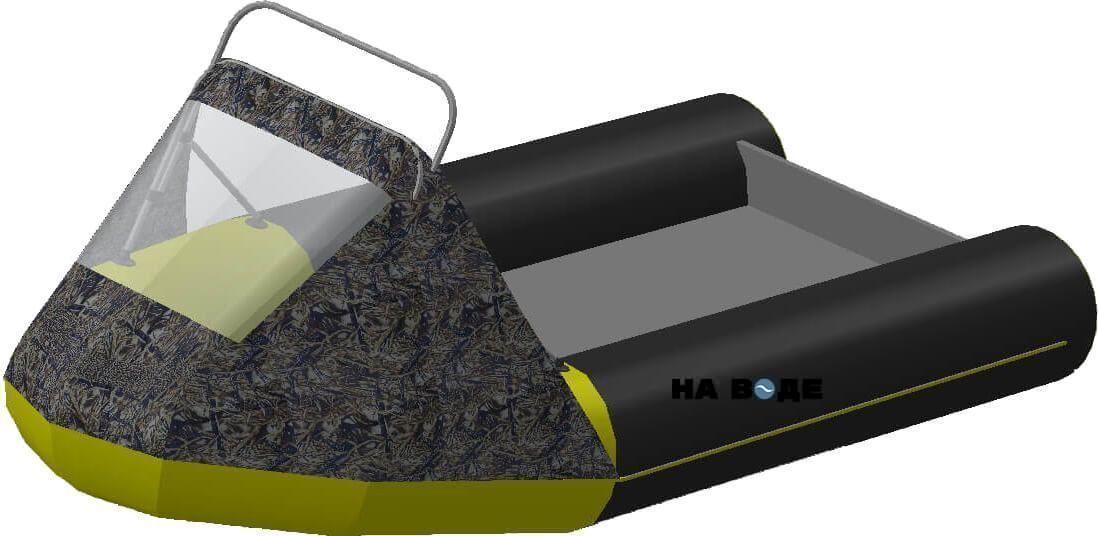 Носовой тент с таргой на лодку Лоцман М290 (Киль) - фото 9