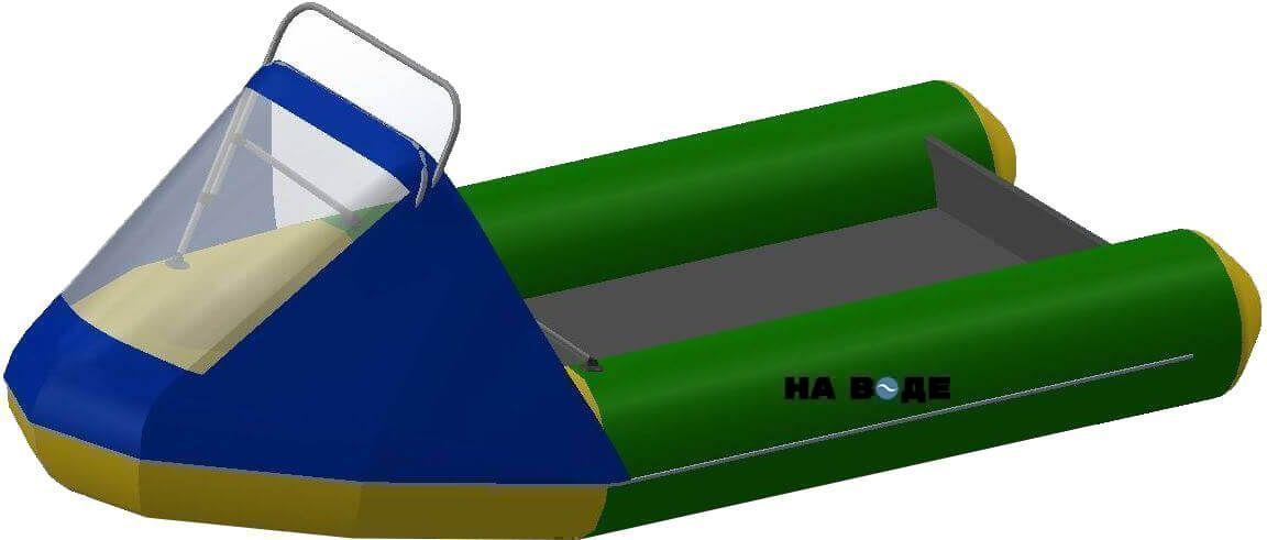 Носовой тент с таргой на лодку Фрегат М-430 FM Light Jet - фото 1