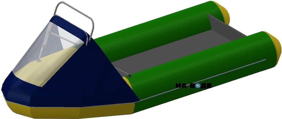 Носовой тент с таргой на лодку Фрегат М-430 FM Light Jet - фото 4